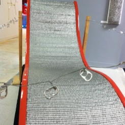A chair made out of those